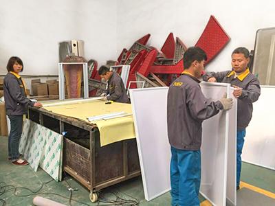 生产施工团队